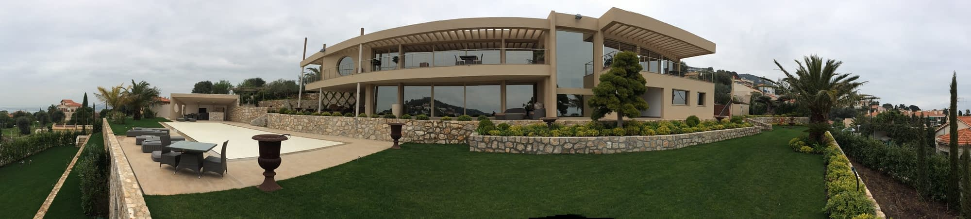 2015 - PRIVE - Villa + piscine